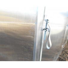 Казачок 3х6 м  оц. труба 25*25 мм шаг дуг 1 м, 0.65 м