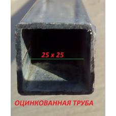 Казачок 3х10 м  оц. труба 25*25 мм шаг дуг 1 м, 0.65 м